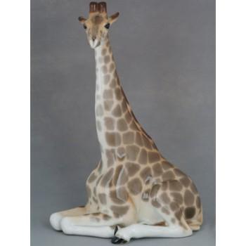 """Скульптура """"Жираф с поднятой головой"""""""