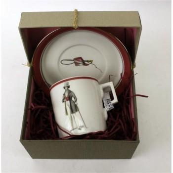 Набор чайный 220мл Modes de Paris Кирпичный