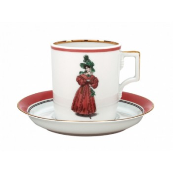 Набор чайный 220мл Modes de Paris 1827