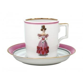 Набор чайный 220мл Modes de Paris 1828