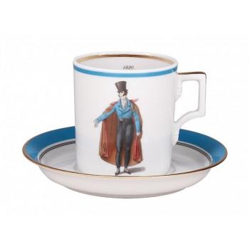 Набор чайный 220мл Modes de Paris Синий