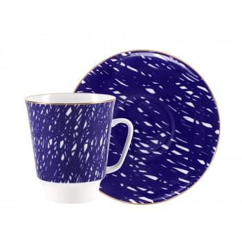 Чашка с блюдцем форма Майская рисунок Cool