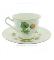 Чашка с блюдцем форма Айседора рисунок Морошка