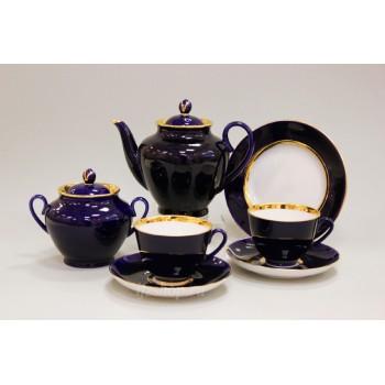 Сервиз чайный форма Весенняя рисунок Ночь 6 персон 20 предметов