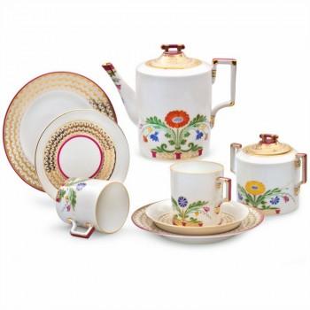 Сервиз чайный форма Гербовая рисунок Замоскворечье 6 персон 20 предметов