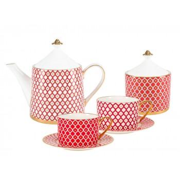 Сервиз чайный форма Идиллия рисунок Скарлетт 4 персоны 10 предметов
