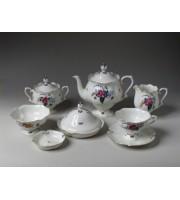 Сервиз чайный форма Наташа рисунок Невеста 6 персон 23 предмета