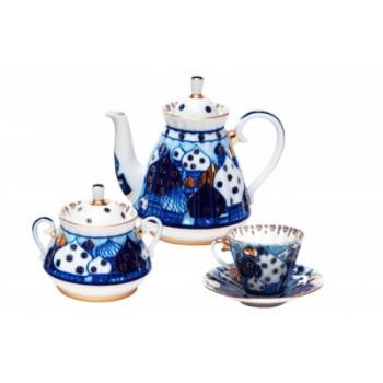 Сервиз чайный форма Лучистая рисунок Перезвоны
