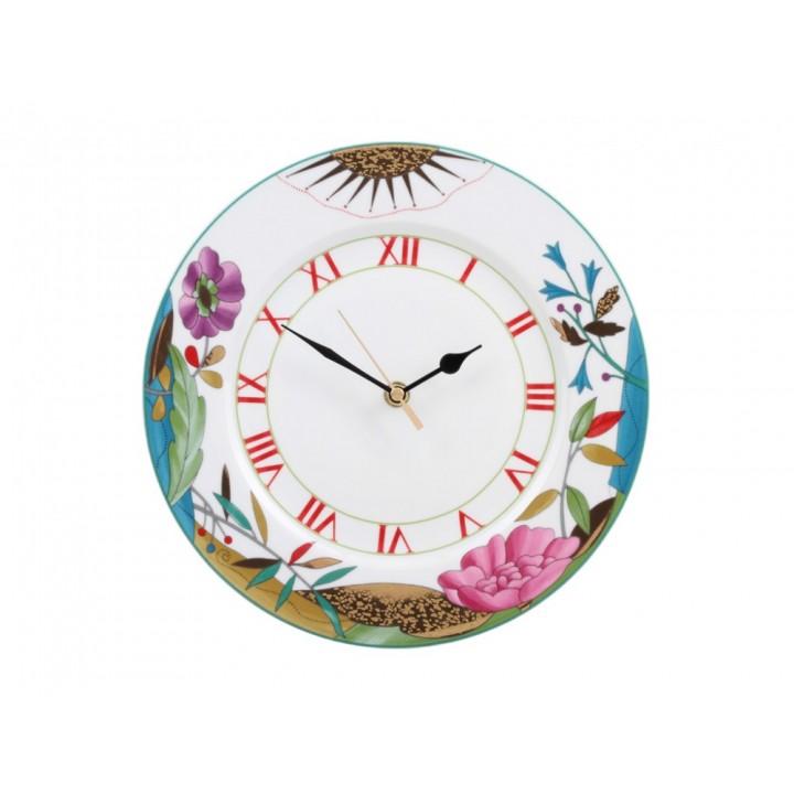 Часы декоративные форма европейская-2 рисунок Под солнцем золотым 270 мм