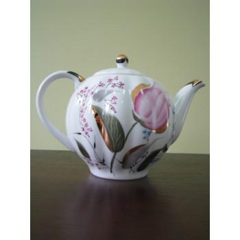 Чайник зав. Тюльпан Розовые тюльпаны