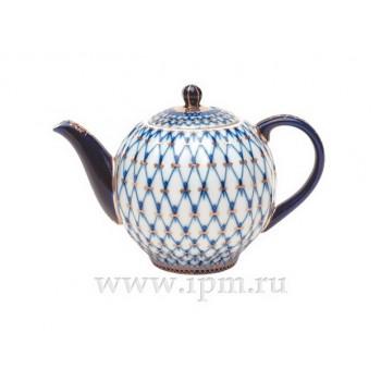 """Чайник доливной Тюльпан """"Кобальтовая сетка"""""""