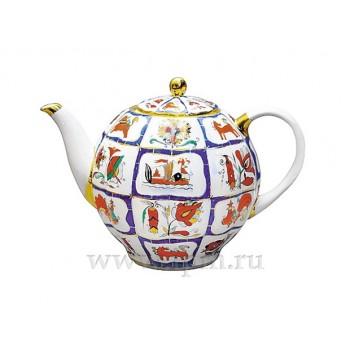 """Чайник доливной Тюльпан """"Русский лубок"""""""