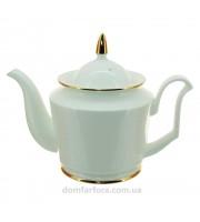 Чайник заварочный форма Юлия рисунок Золотая лента