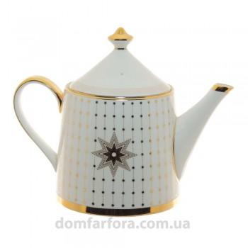 Чайник заварочный форма Идиллия рисунок Азур