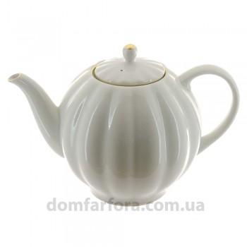 Чайник доливной форма Тюльпан рисунок Белоснежка
