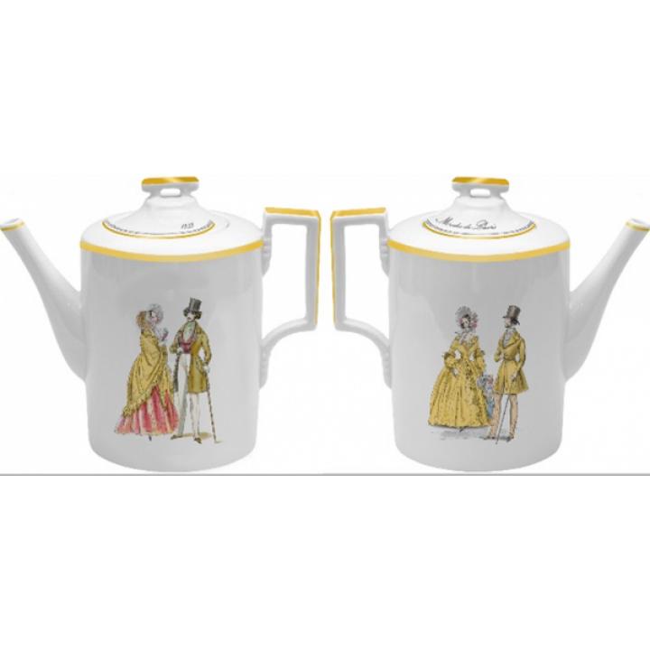 Чайник заварочный форма Гербовая рисунок Modes de Paris (в подарочной упаковке)