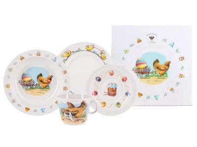Как выбрать фарфоровую посуду для детей?
