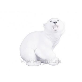 Скульптура Медвежонок белый