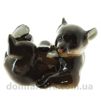 Скульптура Медвежонок лежащий