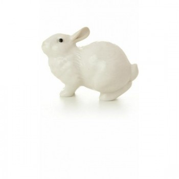 Скульптура Ушастик Белый