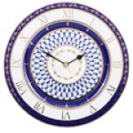 Часы декоративные из твердого фарфора