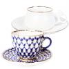 Чашка с блюдцем кофейная (102)
