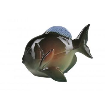 Скульптура Рыба-бабочка Зеленый