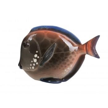 Скульптура Рыба-диск Розовый