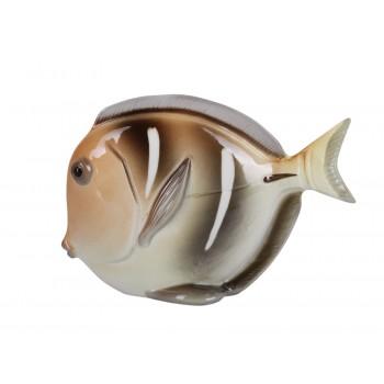 Скульптура Рыба-диск Желтый