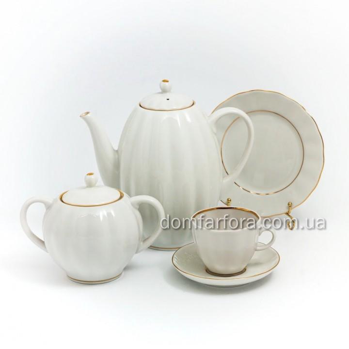 Сервиз кофейный форма Тюльпан рисунок Белоснежка 6 персон 20 предметов