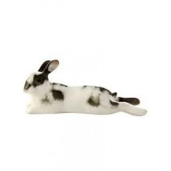 Скульптура Кролик Лежебока Серый