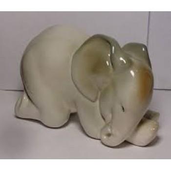 """Скульптура """"Слоненок спящий"""""""