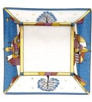 Подставка для мелочи и украшений рисунок Зимние грезы 10*10