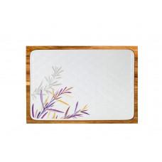 Доска сырная форма Стандартная рисунок Розмарин (в упаковке)