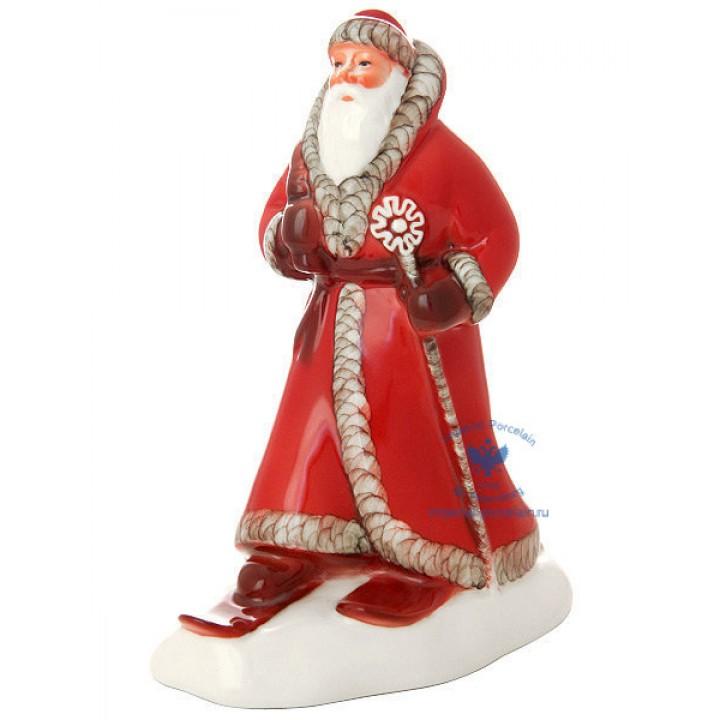 Скульптура Дед Мороз Красный нос