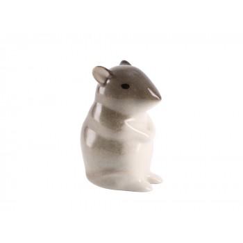 Скульптура Мышь-малютка 2 Палевая
