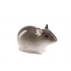 Скульптура Мышь-малютка 1 Палевая