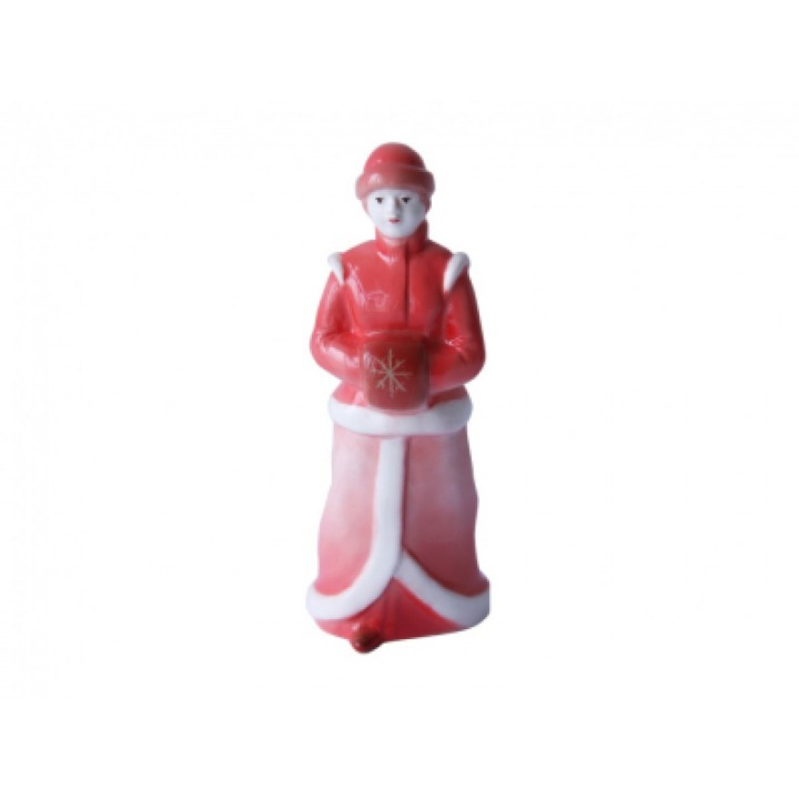 Скульптура Снегурка Красный нос
