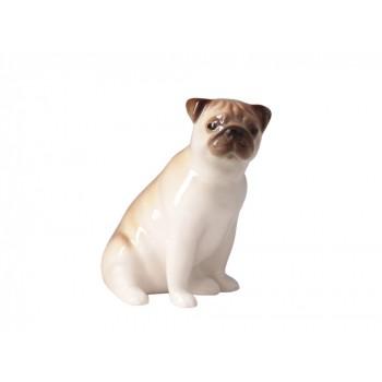 Скульптура Мопс сидящий Ники