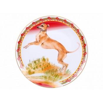 Декоративная тарелка 195 мм форма Эллипс Опушка