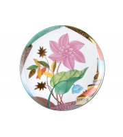 Тарелка декоративная 275 мм Эллипс Цветущий город