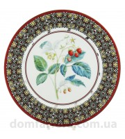 Тарелка декоративная 270 мм форма Европейская-2 рисунок Сладкая малина