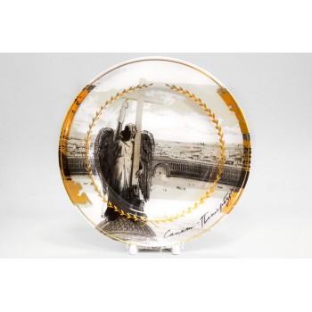 Тарелка декоративная 265 мм рисунок Ангел