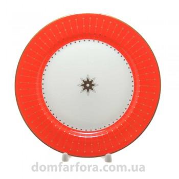 Тарелка мелкая 200 мм форма Стандартная рисунок Скарлетт