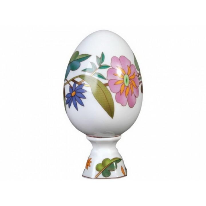 Яйцо пасхальное на подставке Пестрый венок 132 мм